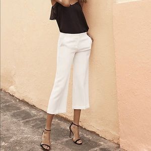 High rise cropped culottes. Size 8 NWT